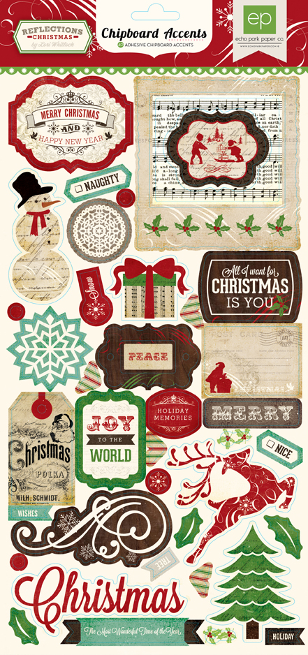 Collections Echo Park Paper Co Reflections Christmas