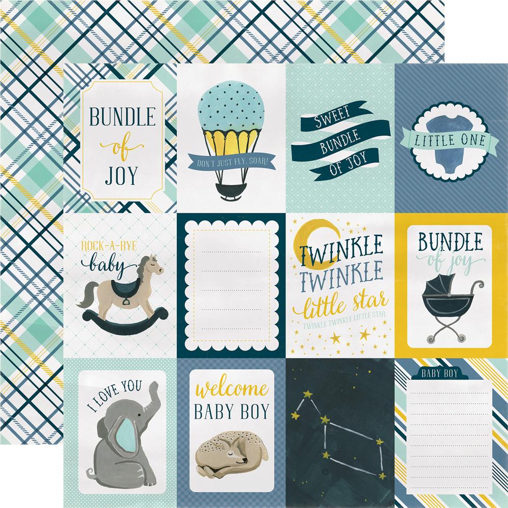 Carta Bella Paper Company Rock-A-Bye Baby Stamp