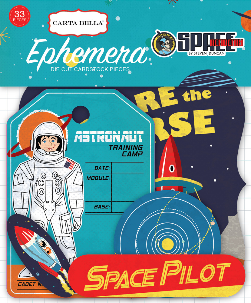 CBSA61024 Space Academy Ephemera