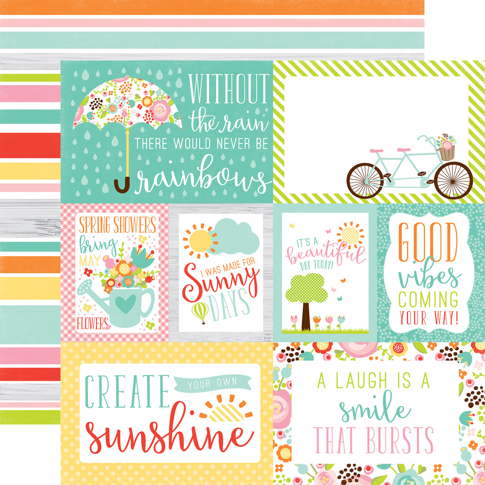 Echo Park Paper Company Hello Spring Collection Kit