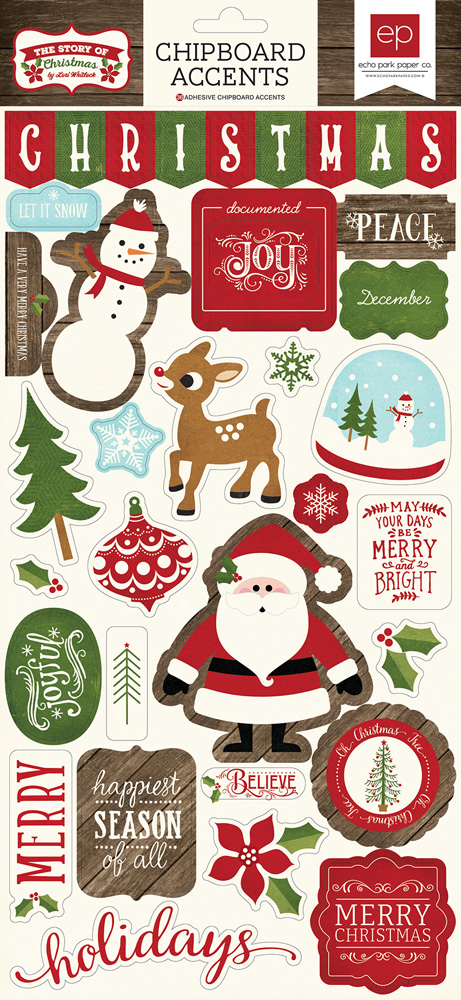 Story Of Christmas.Collections Echo Park Paper Co The Story Of Christmas