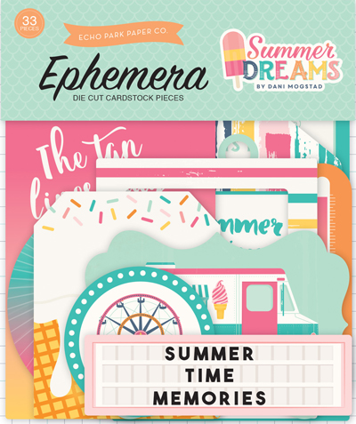 DR126024 Summer Dreams Ephemera front