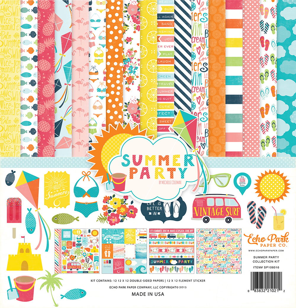 SP106016 Summer Party Kit Cover