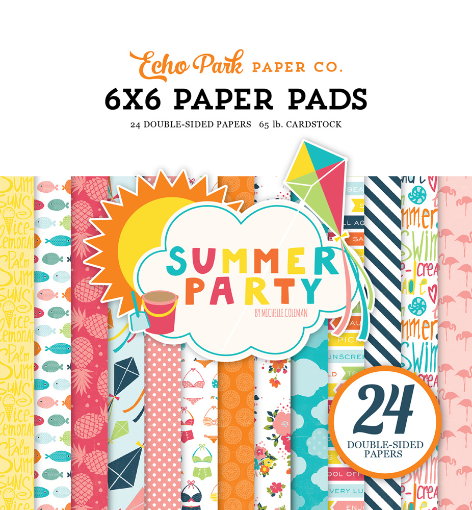 SP106023 Summer Party 6x6 Paper Pad