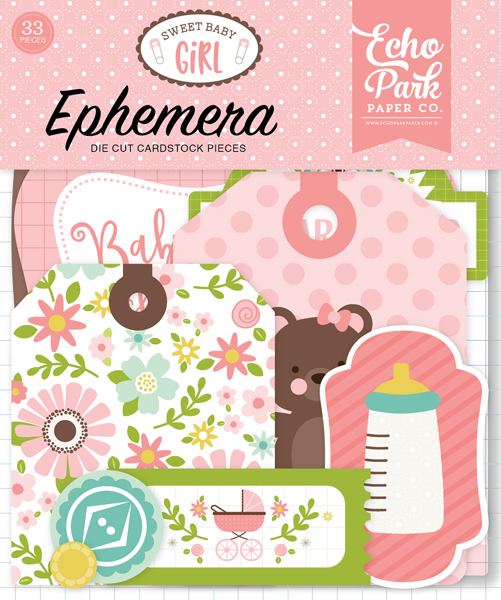 SBG142024 Sweet Baby Girl Ephemera