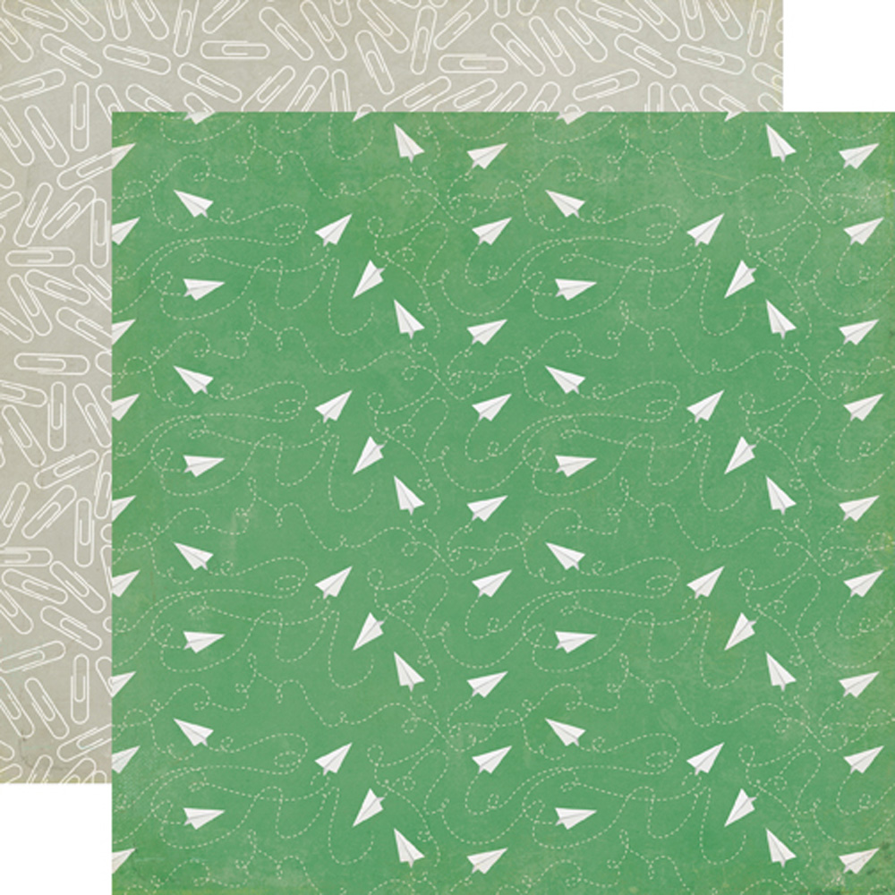 Scrapbook paper echo park - Tp90008 Paper Airplanes