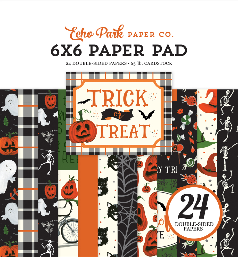 TT186023 Trick or Treat 6x6 Paper Pad Cover