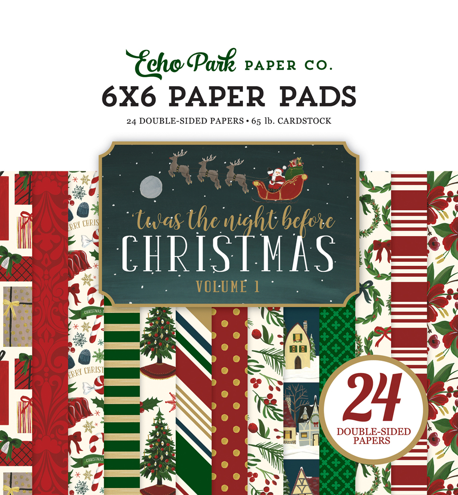 tnc134023 twas the night before christmas 6x6 paper pad vol 1 - Twas The Night Before Christmas Decorating Ideas
