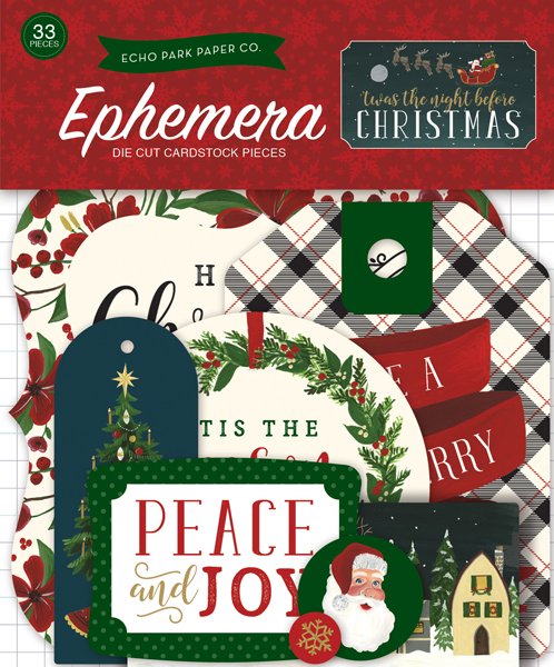 TNC134024 Twas the Night Before Christmas Ephemera