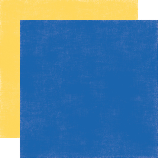Yellow / Blue - Coordinating Solid
