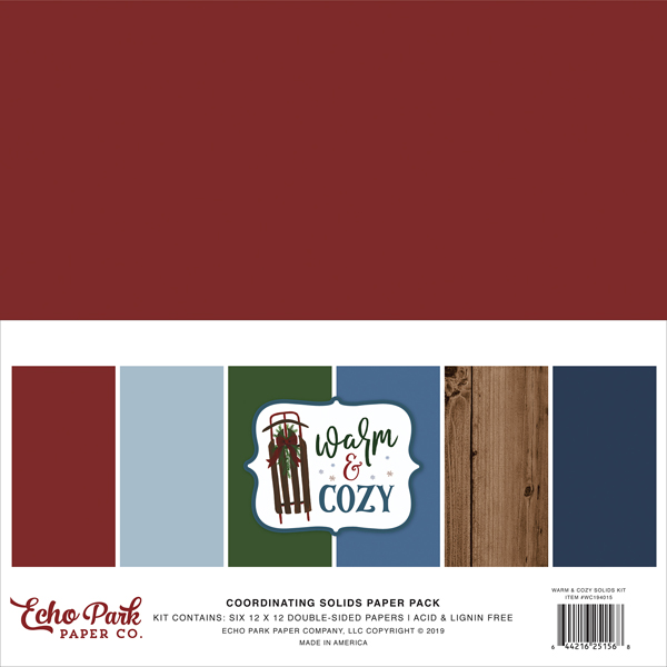 WC194015 Warm And Cozy Solids Kit