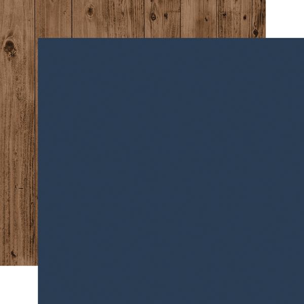 red Woodgrain Green Blue Navy Echo Park Paper Company WC194028 Warm /& Cozy Enamel dots