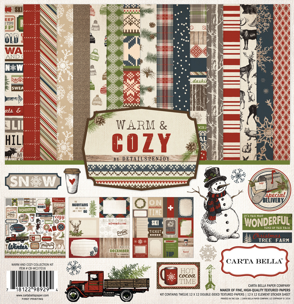Warm And Cozy Collection By Carta Bella Paper