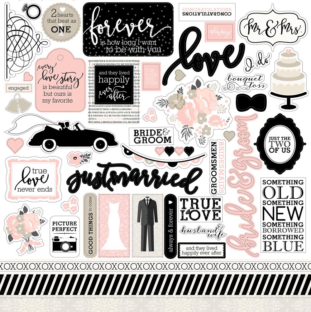 Wb129014 Wedding Bliss Sticker