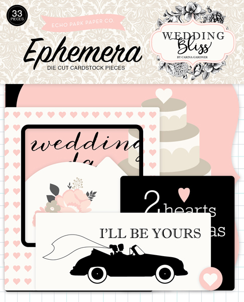 WB129024 Wedding Bliss Ephemera
