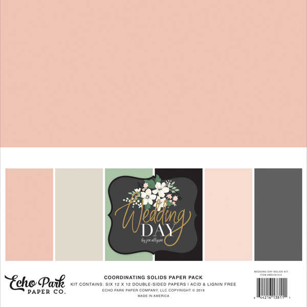 WD181015 Wedding Day Solids Kit