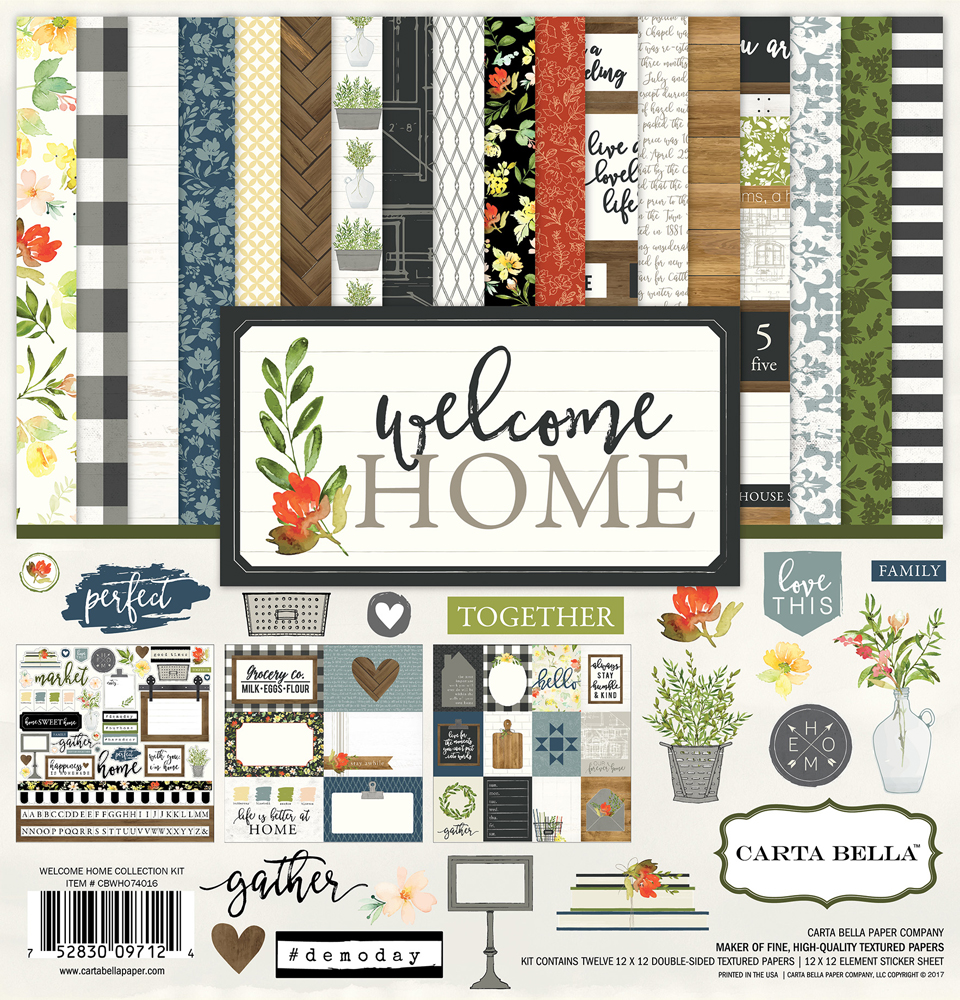 Collections Echo Park Paper Co Welcome Home