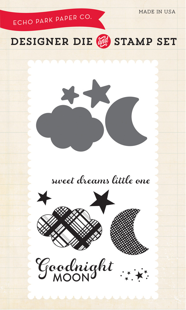 goodnight moon die stamp