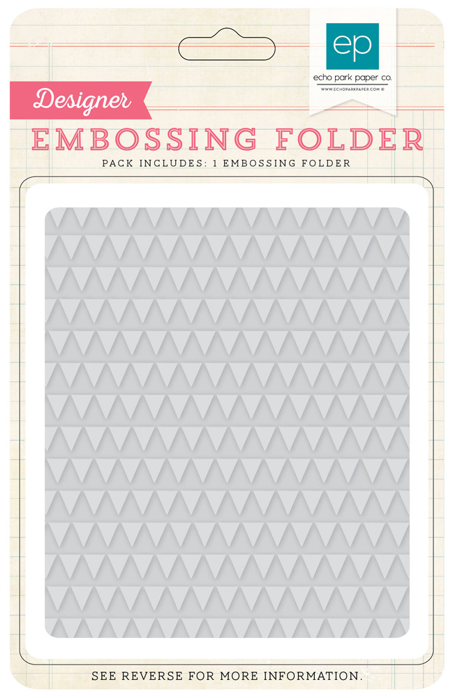 ILS86035 Embossing Folders - Mini Triangles
