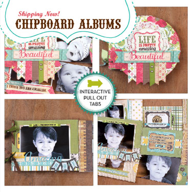 chipboard album
