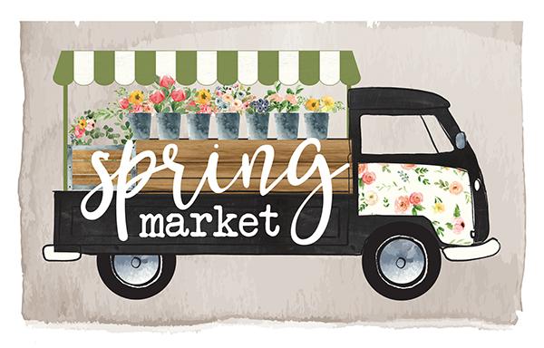 Image result for spring Market