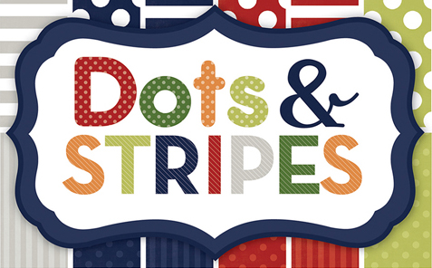 Dots Stripes Little Boy