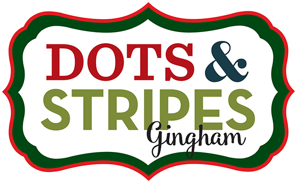 Dots & Stripes Christmas Gingham