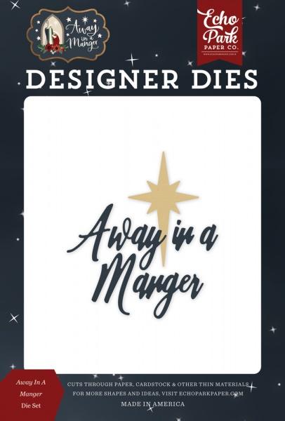 Christmas dies HOLY FAMILY NATIVITY die set Echo Park EPPDIE590 stable,jesus