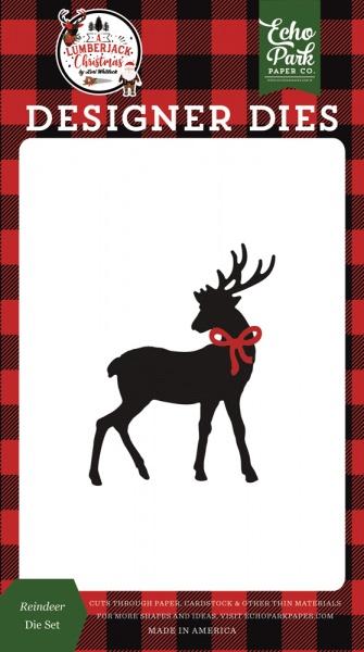 red White Black tan Echo Park Paper Company LL195041 Moose and Bear Set die Kraft