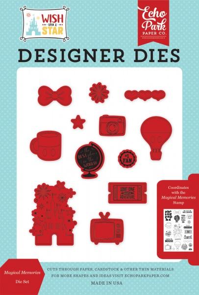 Echo Park Paper Company EPDIE//STAMP52 Christmas Greetings Die//Stamp Set